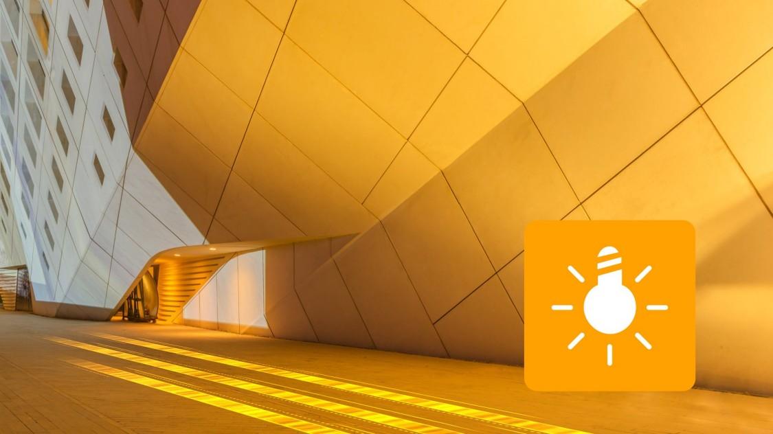 KNX commande de l'éclairage Stores Commande des stores Stores