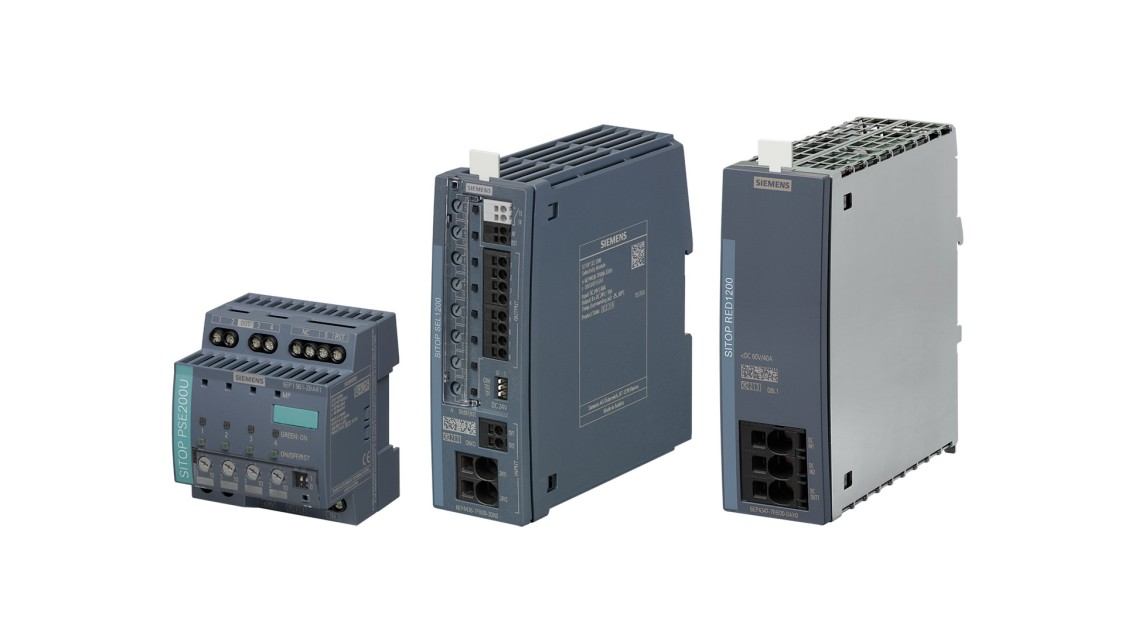 Product line picture of the SITOP add-on modules