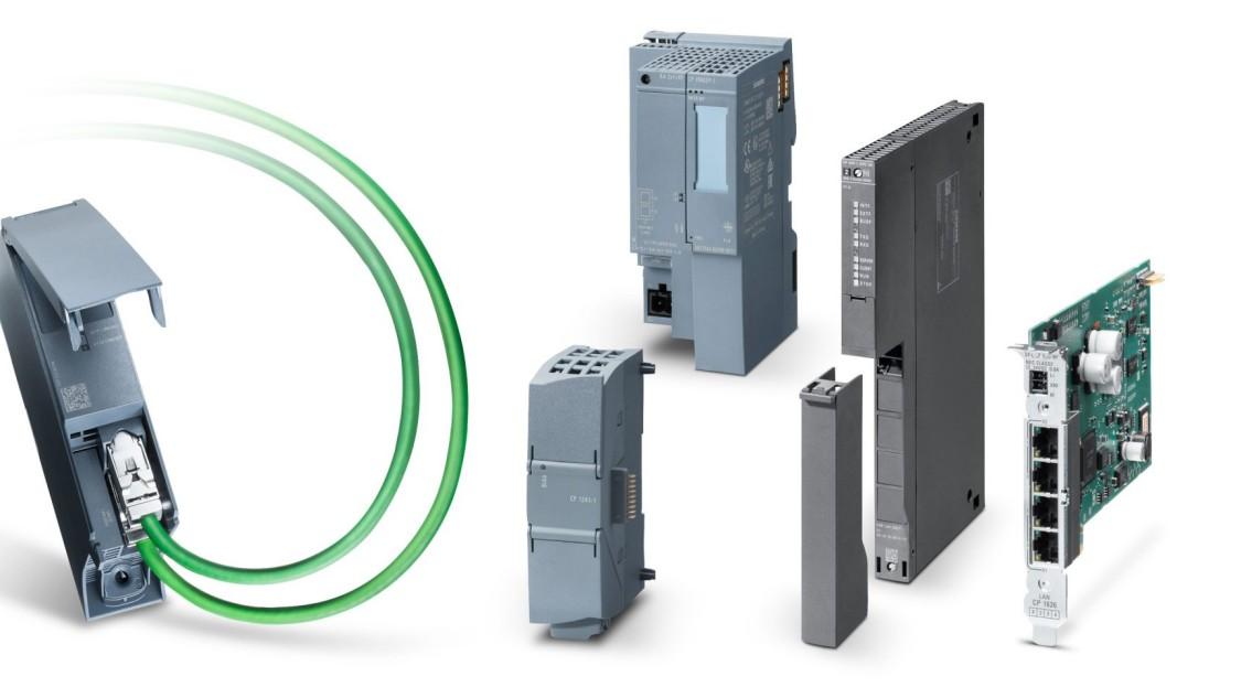 Produktgruppenbild der Kommunikationsprozessoren (CP) zur Kommunikation für SIMATIC