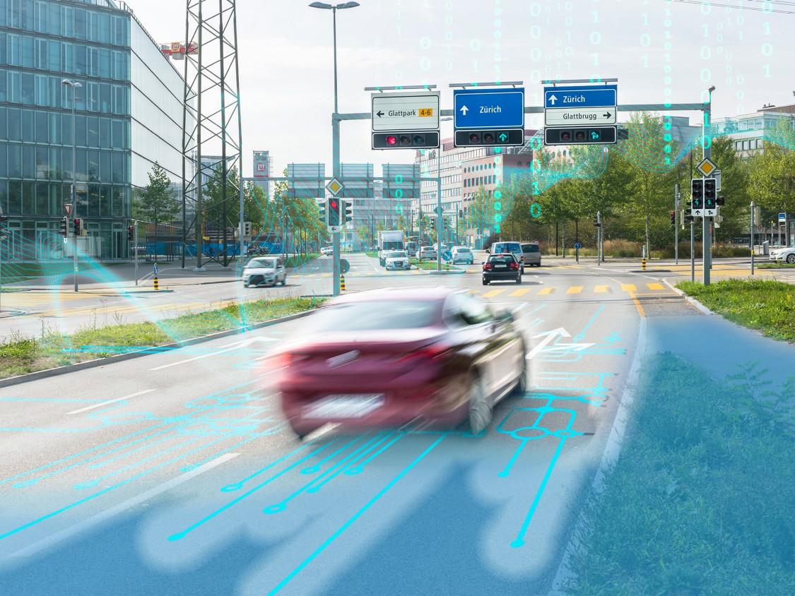 Siemens Mobility Road Zurich