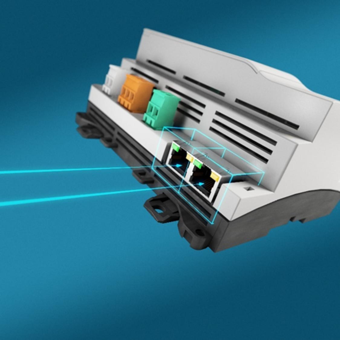 Łatwy dostęp do sterowników Desigo PXC4 i PXC5