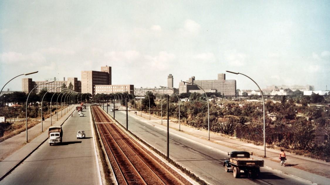 Berlin, Siemensstadt, 1956