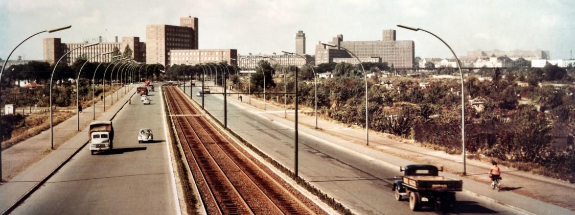 Blick auf Siemensstadt, 1956