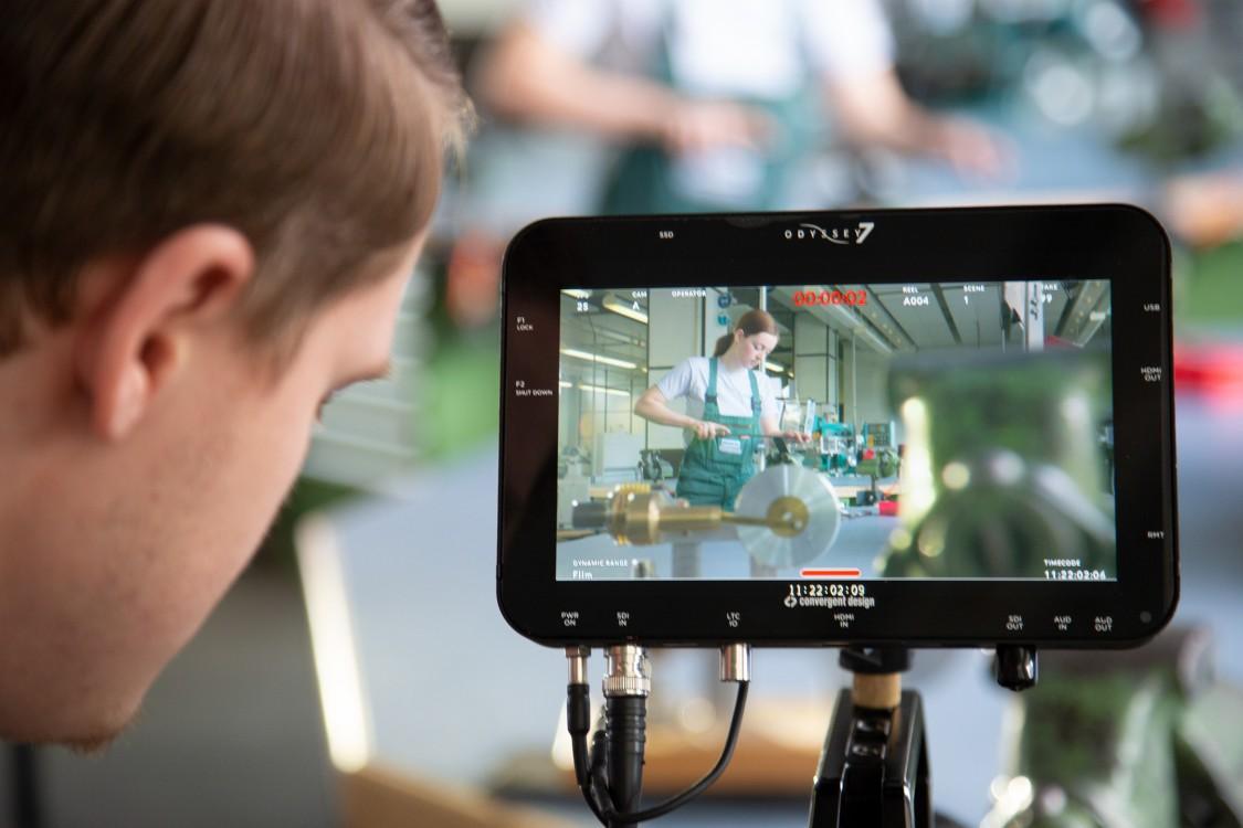 Siemens-Ausbildung auf YouTube