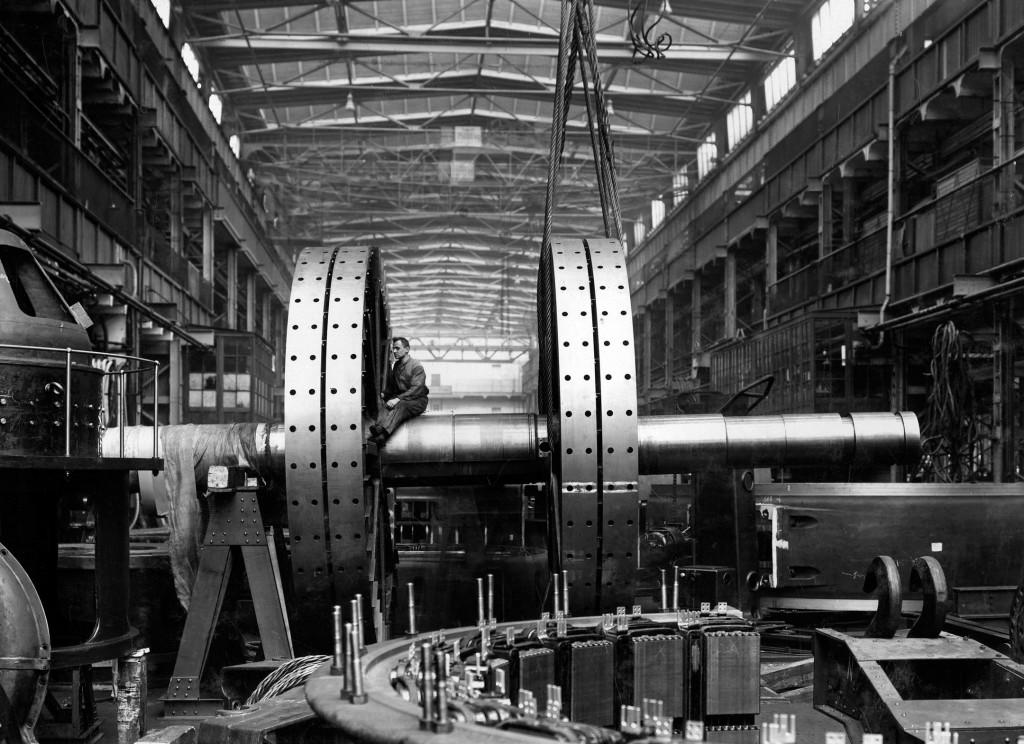 Montagehalle des Dynamowerks