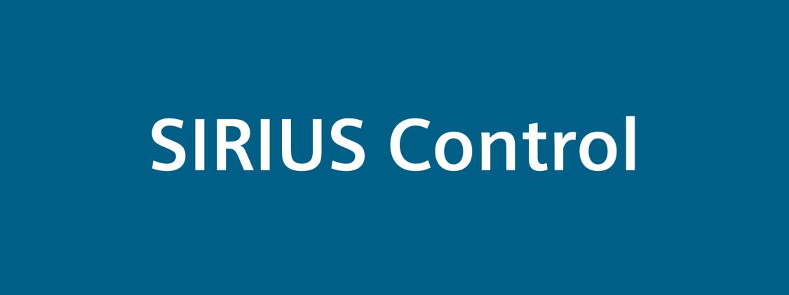 SIRIUS Control logo