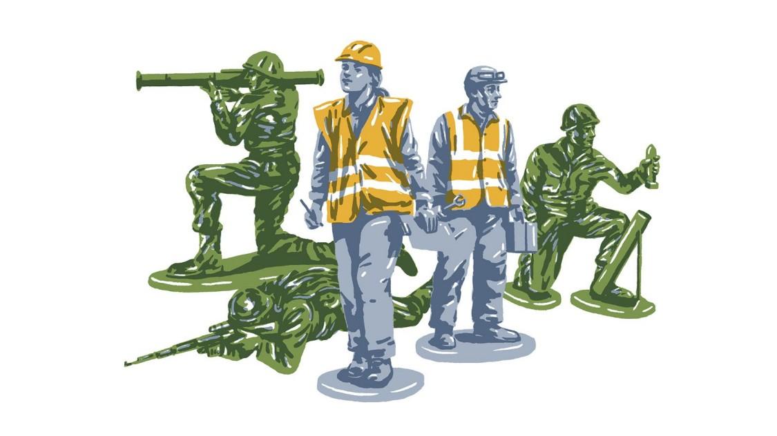 Veteraninnen und Veteranen haben besondere Fähigkeiten, die in vielen Rollen und Industrien gefragt sind.