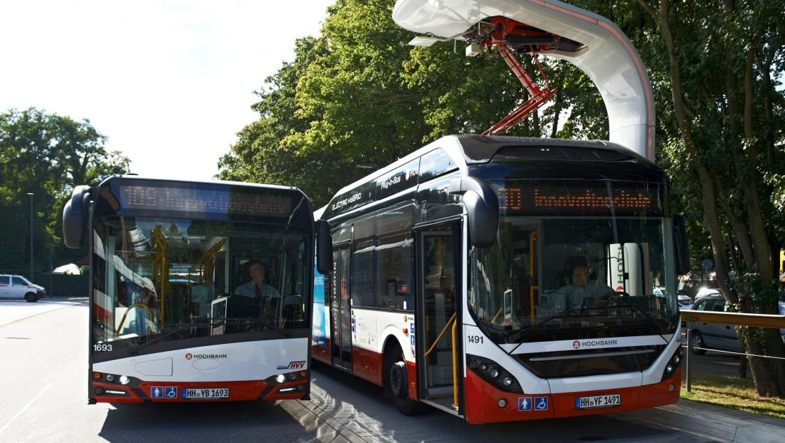 Charging technology for eBuses