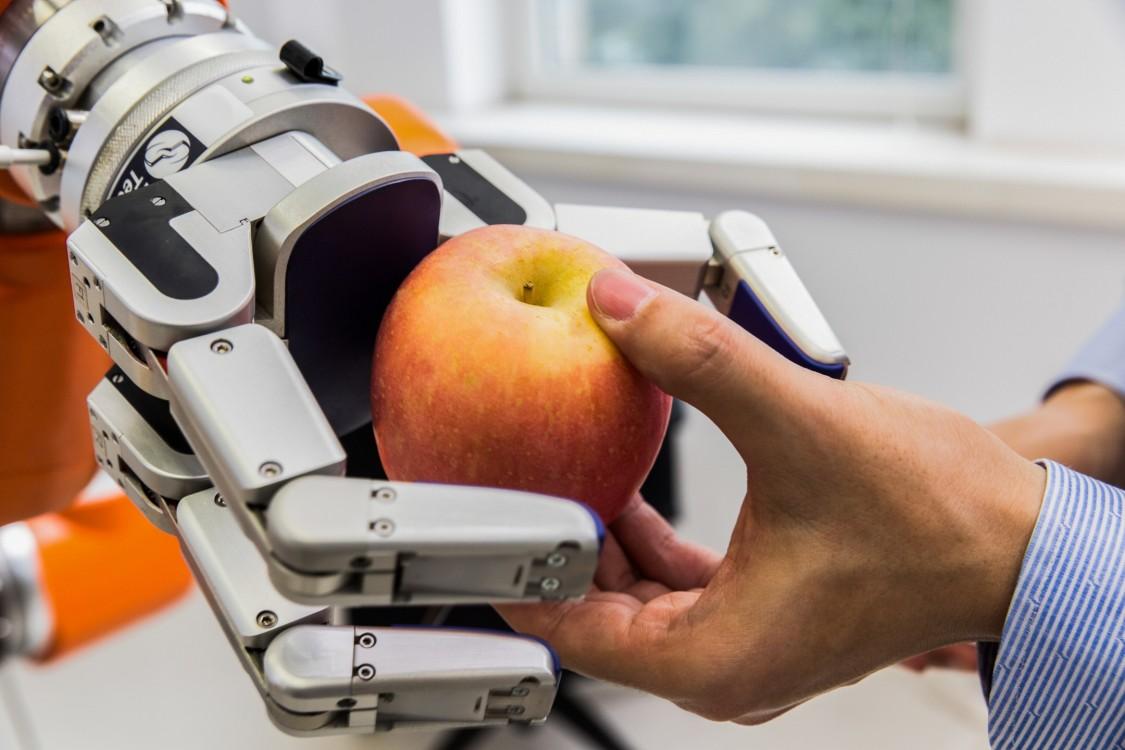 Arbeiten mit Robotern