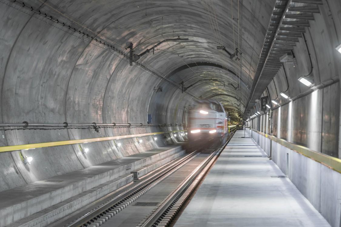 Gotthardbasistunnel, 2016