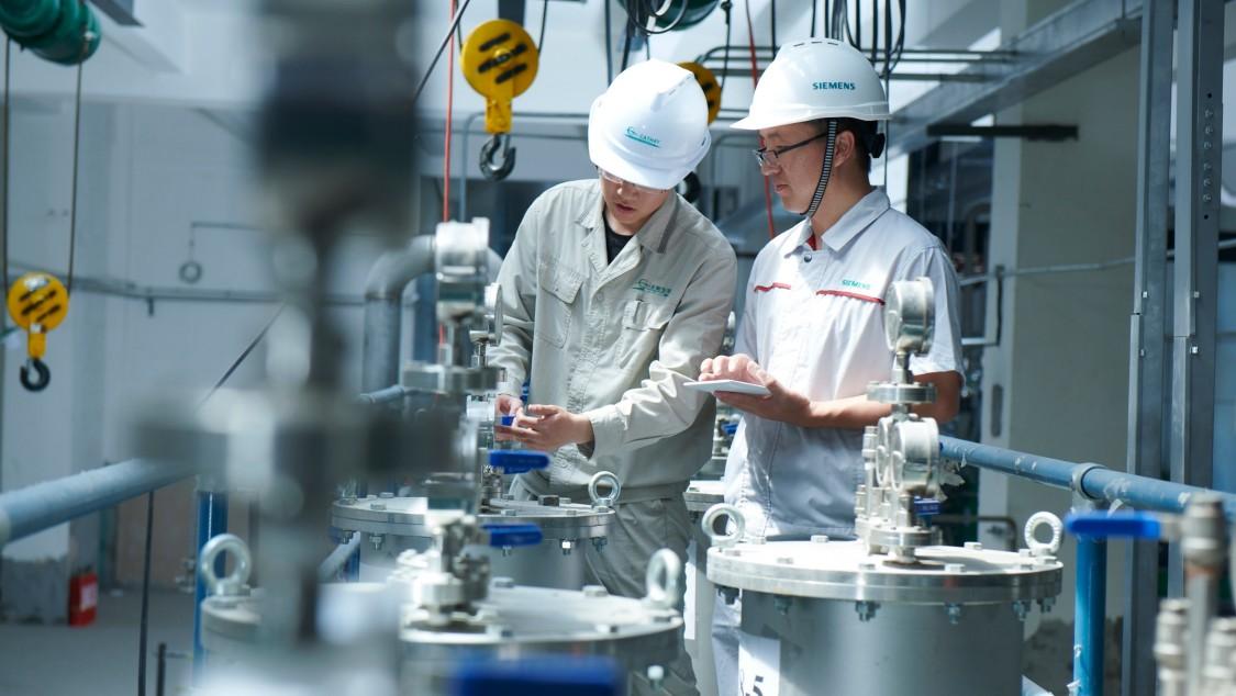 Digital Enterprise für die Prozessindustrie  - Hannover Messe 2019