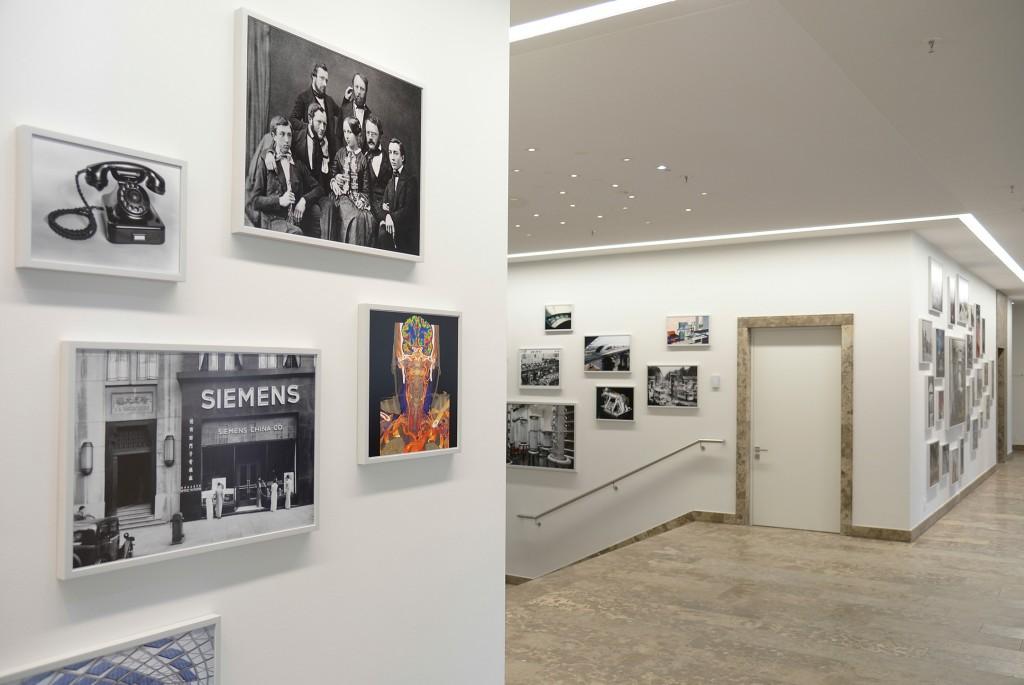Kunstinstallation im Palais Ludwig Ferdinand