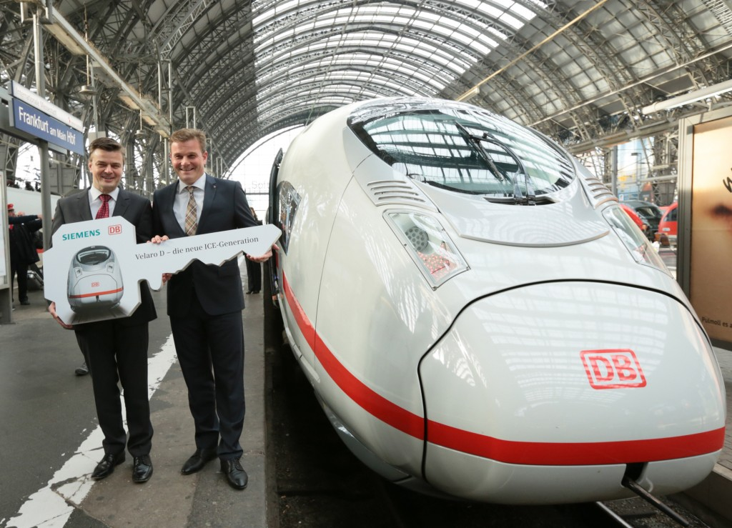 The latest ICE 3 generation: The Velaro D
