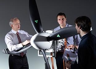 Weltrekord-Elektromotor für Flugzeuge