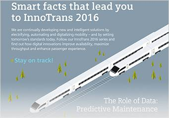 Infographic: Smart facts that lead you to InnoTrans 2016