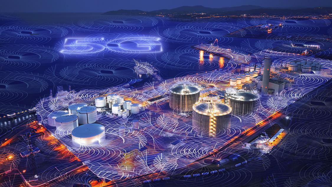 Siemens keyvisual Industrial 5G