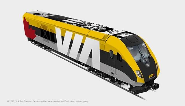 Siemens Canada obtient une importante commande de VIA Rail Canada pour un nouveau parc de trains de voyageurs