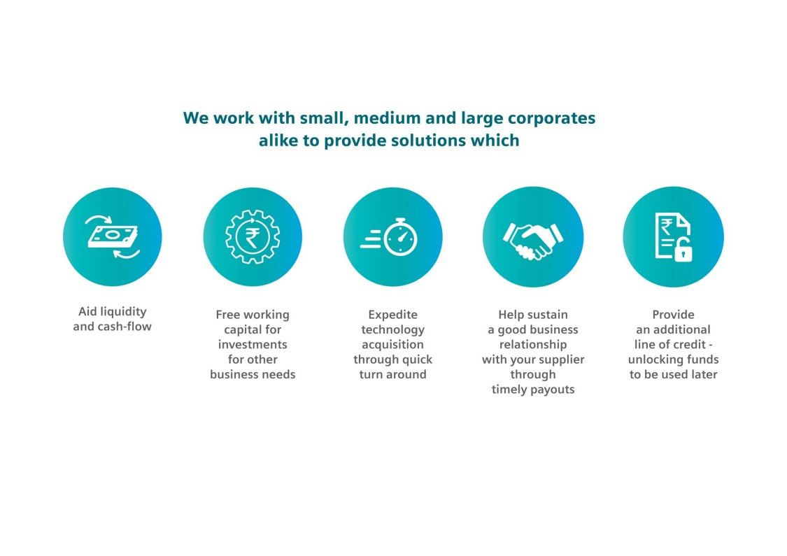 Benefits of working with Siemens Factoring Private Limited