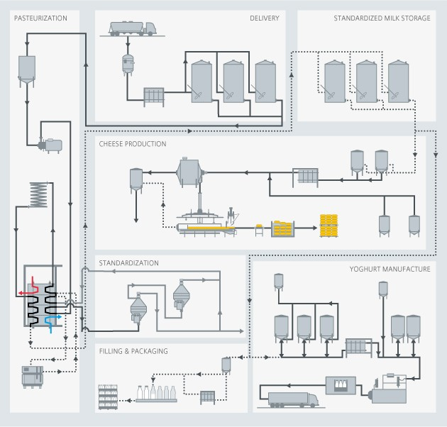 Dairy process overview