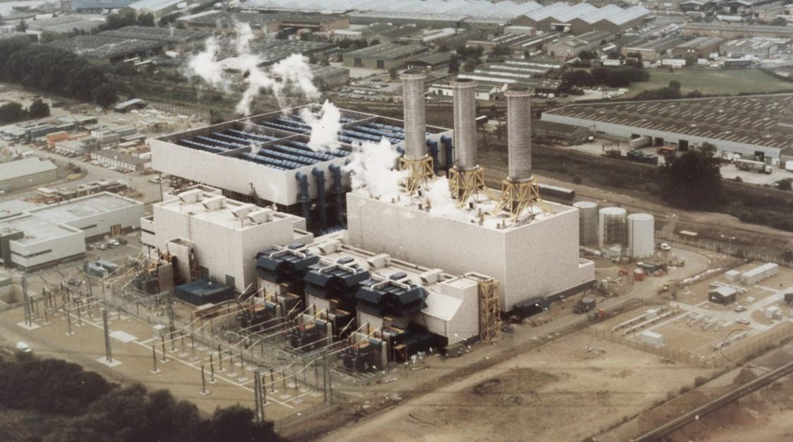 """Електростанція комбінованого циклу """"Рай Хаус"""", 1993 Рік"""
