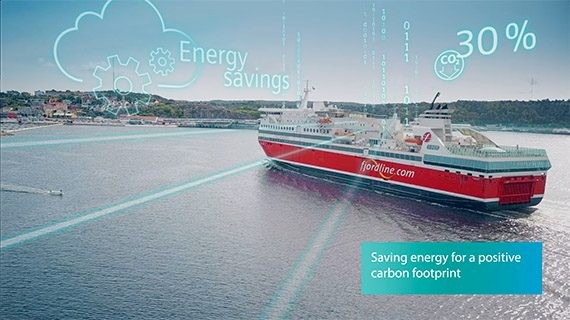 MS Oslofjord и Novenco добрались до облаков благодаря Climatix IC