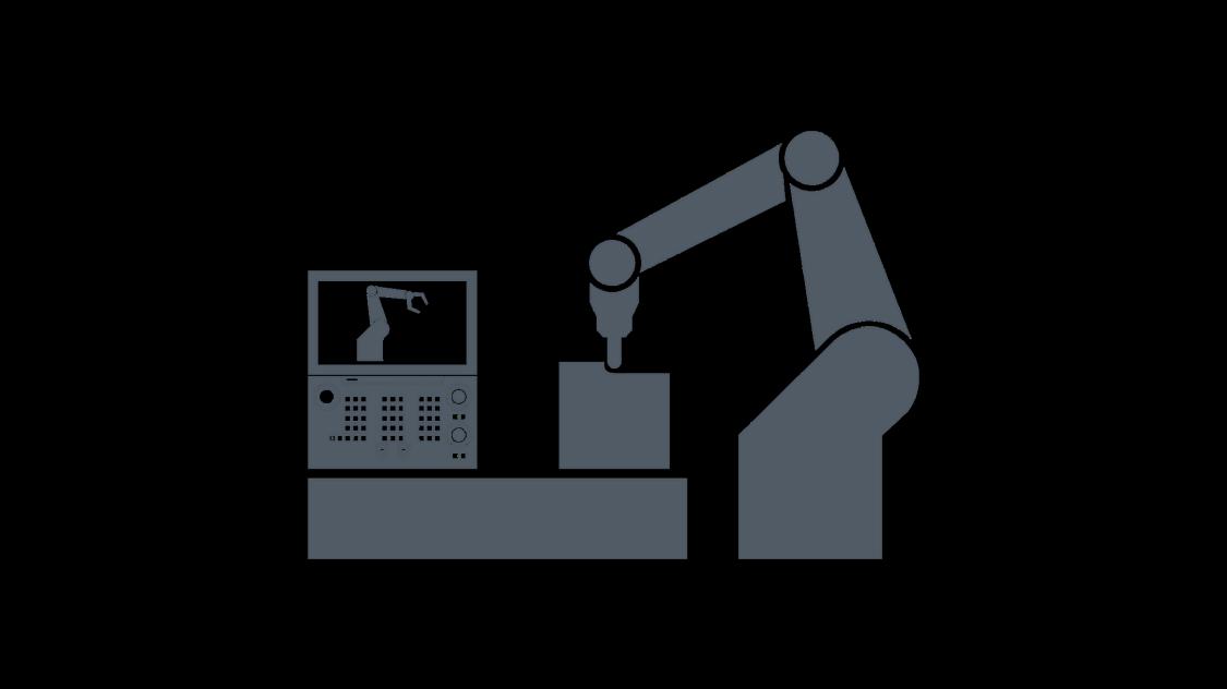 Visualization SINUMERIK Run MyRobot /Machining