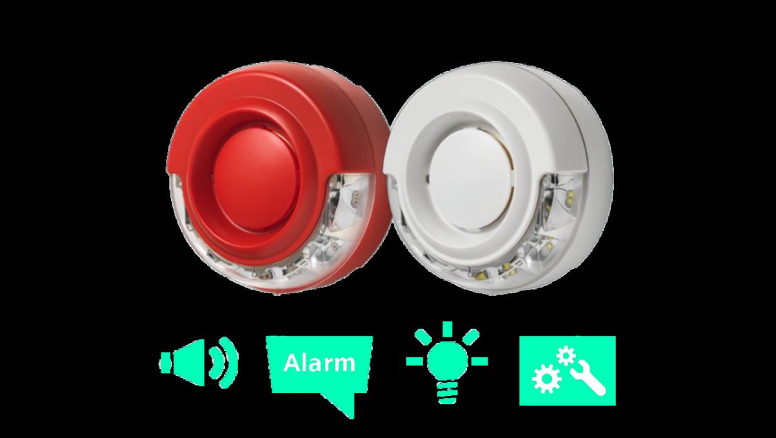 Siemens Signalgeber (akustisch, optisch, Sprache)