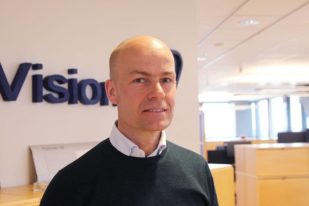 Robert Maier, senior specialistkonsult på PlantVision.