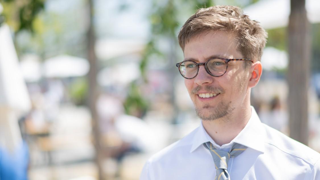 Lukas Theisen, FuE-Ingenieur für Elektrokonstruktion, DISA Industries