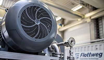 Flottweg SE gehört zu den führenden Herstellern von Dekantern, Separatoren und Bandpressen.