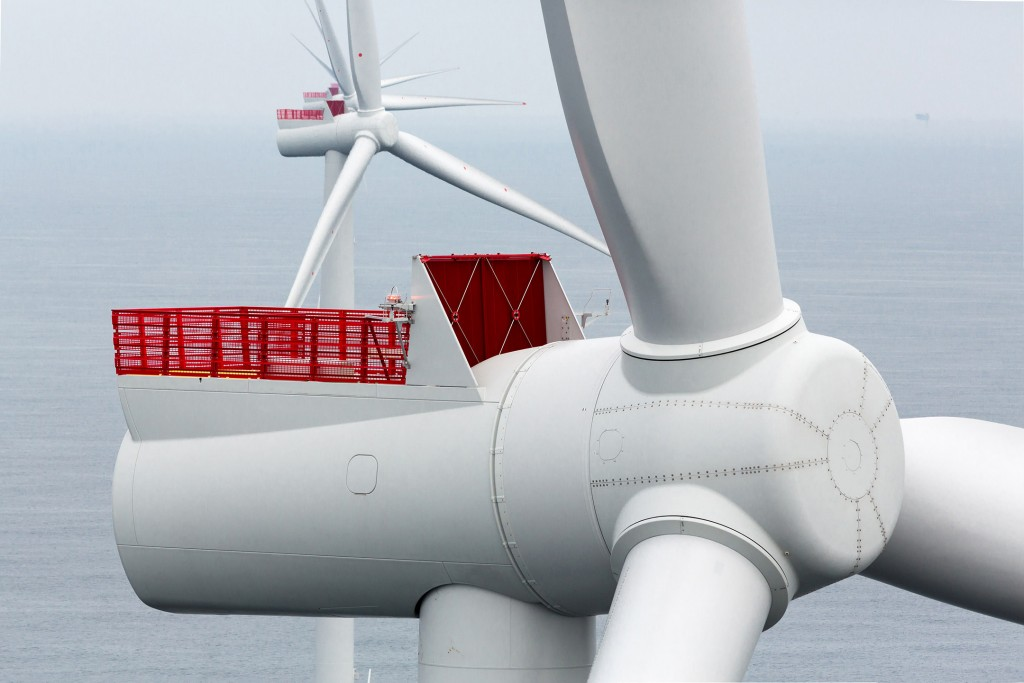 Die Siemens D6-Windturbine