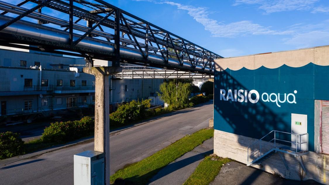 Customer reference: RaisioAqua, Finland