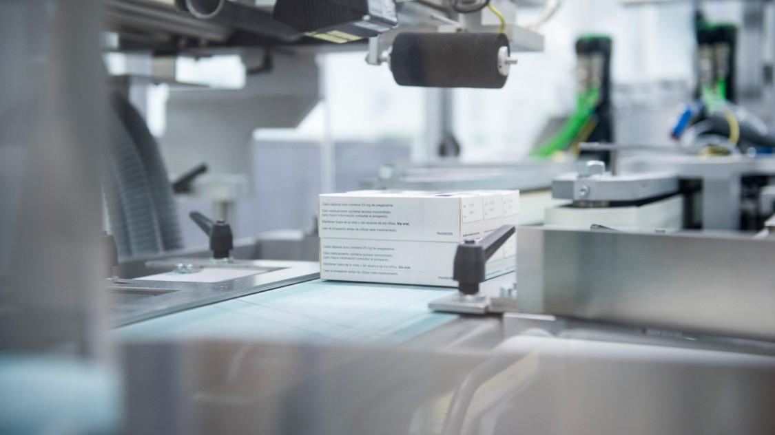 Verpackungslinien in der Arzneimittelherstellung