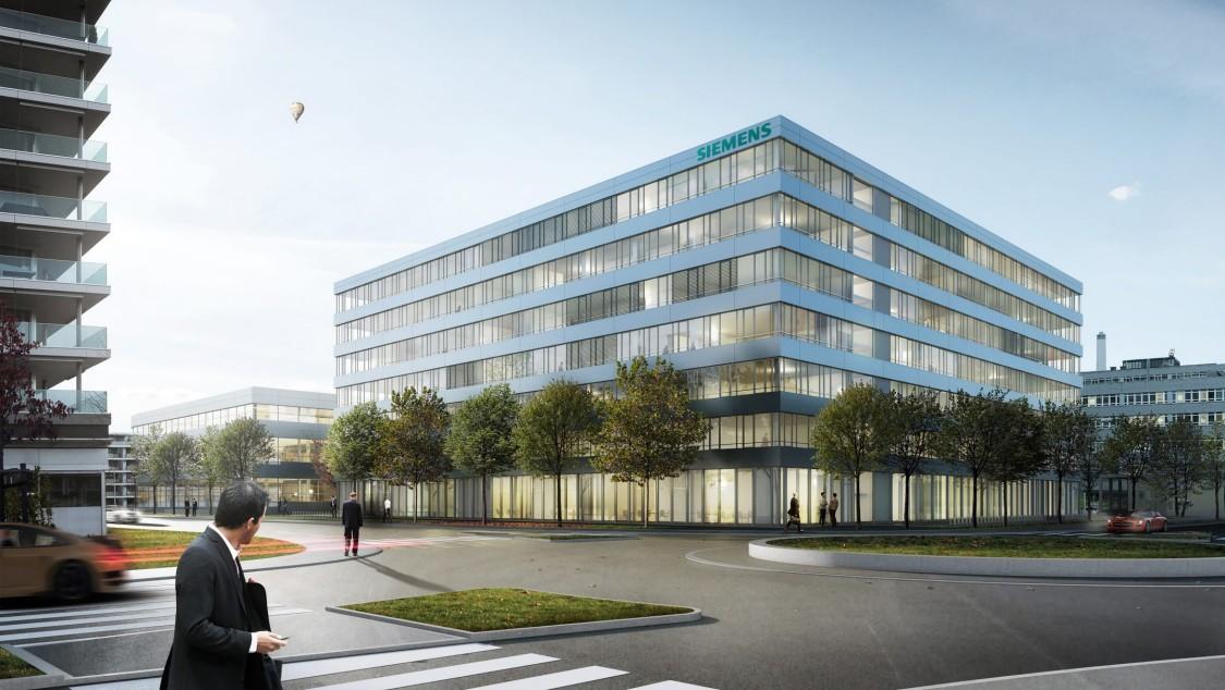 Neue Zentrale für die Division Building Technologies