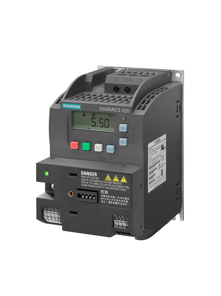 I/O Erweiterungsmodul für Sinamics V20 vergrößert Umrichter-Anwendungsbereich