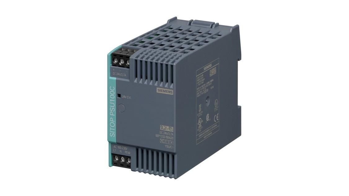 Produktbild SITOP PSU100C NEC Class 2, 1-phasig, DC 24 V/03,7 A