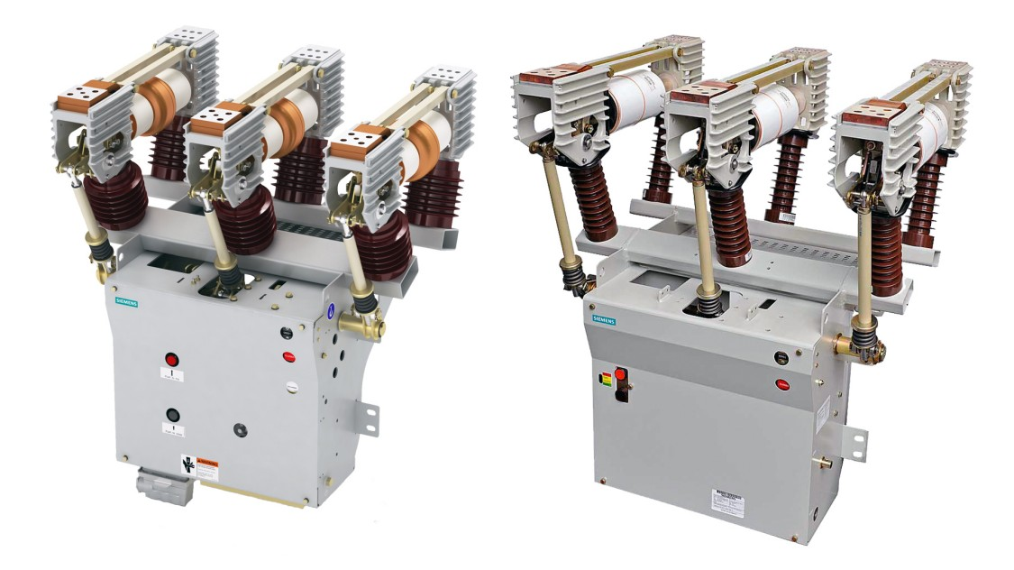 Types 3AH35-SE stored-energy and 3AH35-MA magnetic-actuator operators