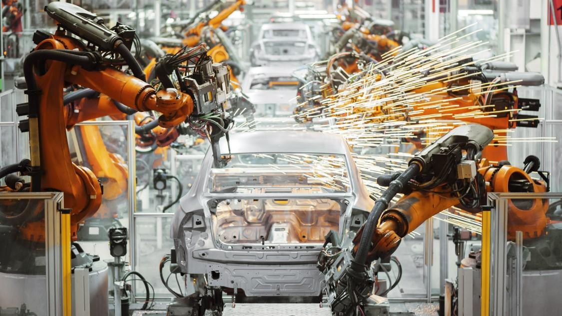 TSN 能够在最长的装配线上同步机器人和传送带。