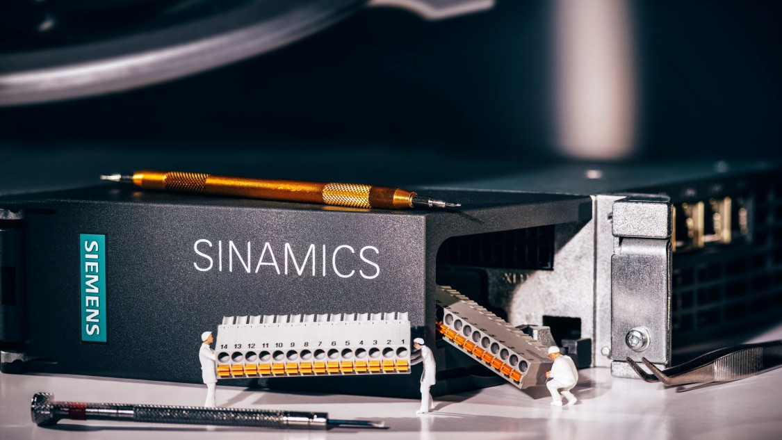 Der Umrichter SINAMICS S120