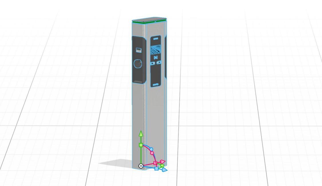 SICHARGE 3D Model