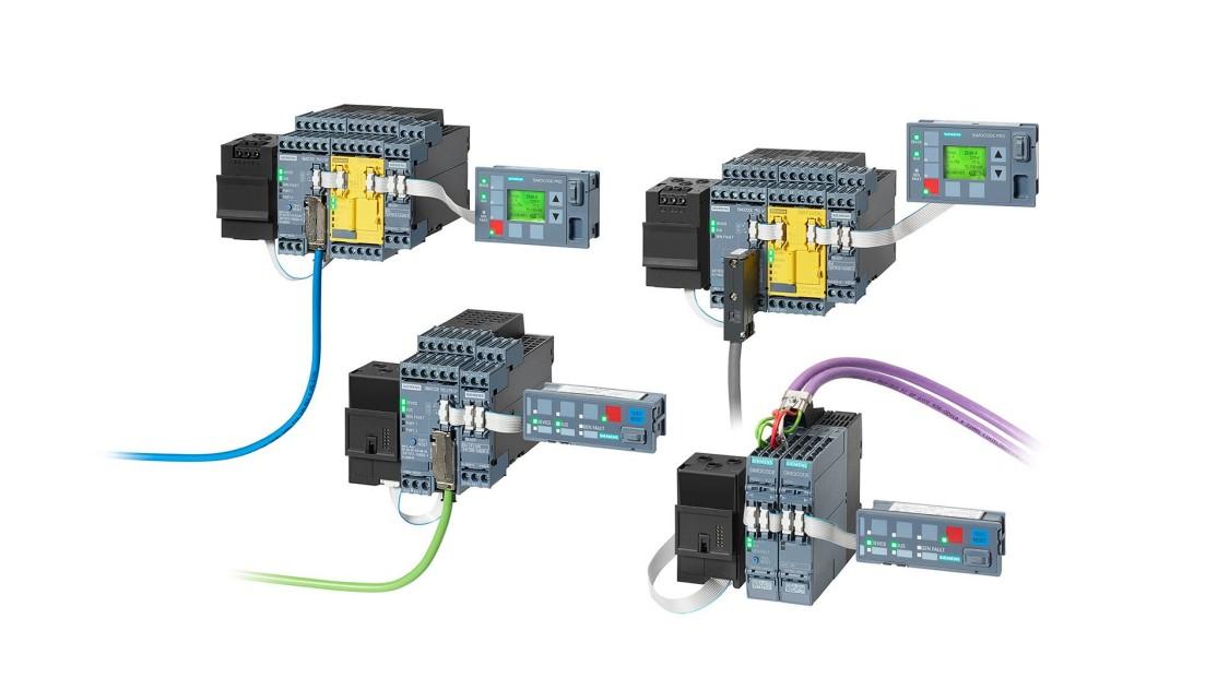 Примеры конфигураций элементов систем SIMOCODE pro
