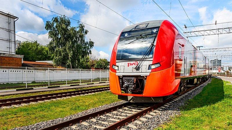 Электропоезд «Ласточка» курсирует по МЦК
