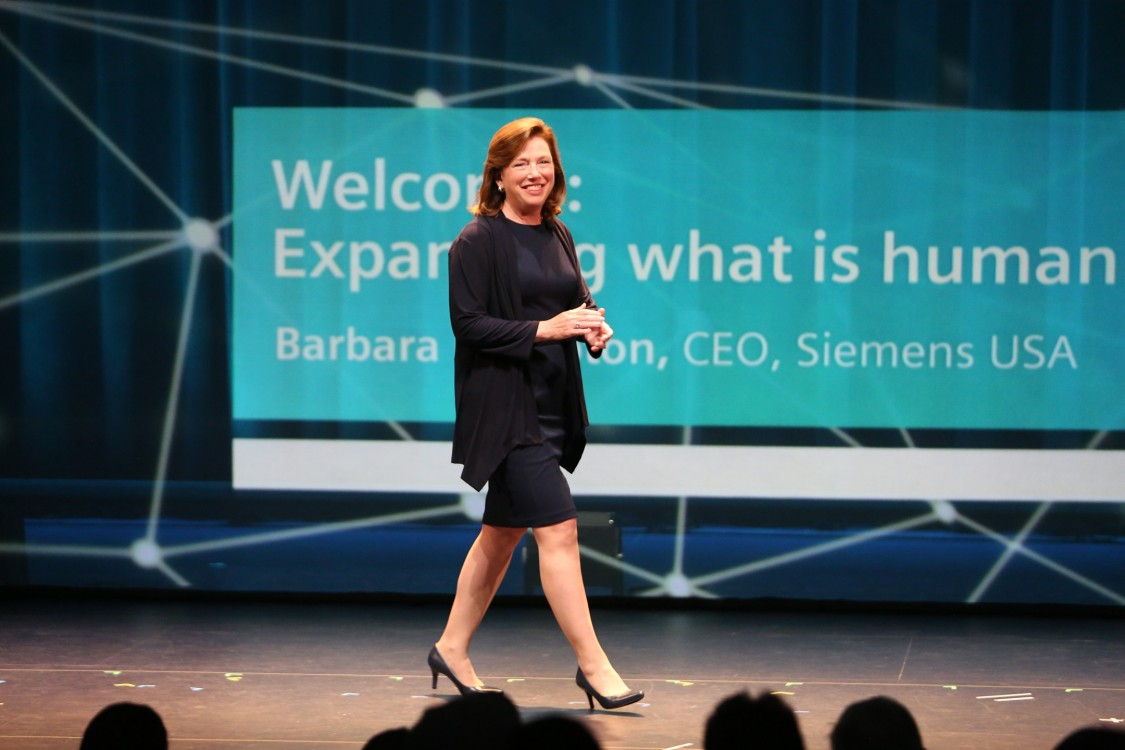 At Siemens' flagship innovation event, a chance to illuminate the real purpose behind the tech