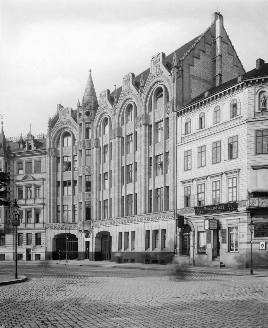 The administration building at Askanischer Platz 3, Berlin