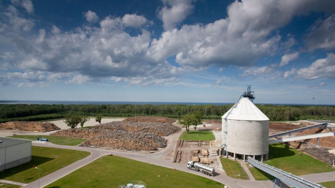 Estonian Cell pulp mill