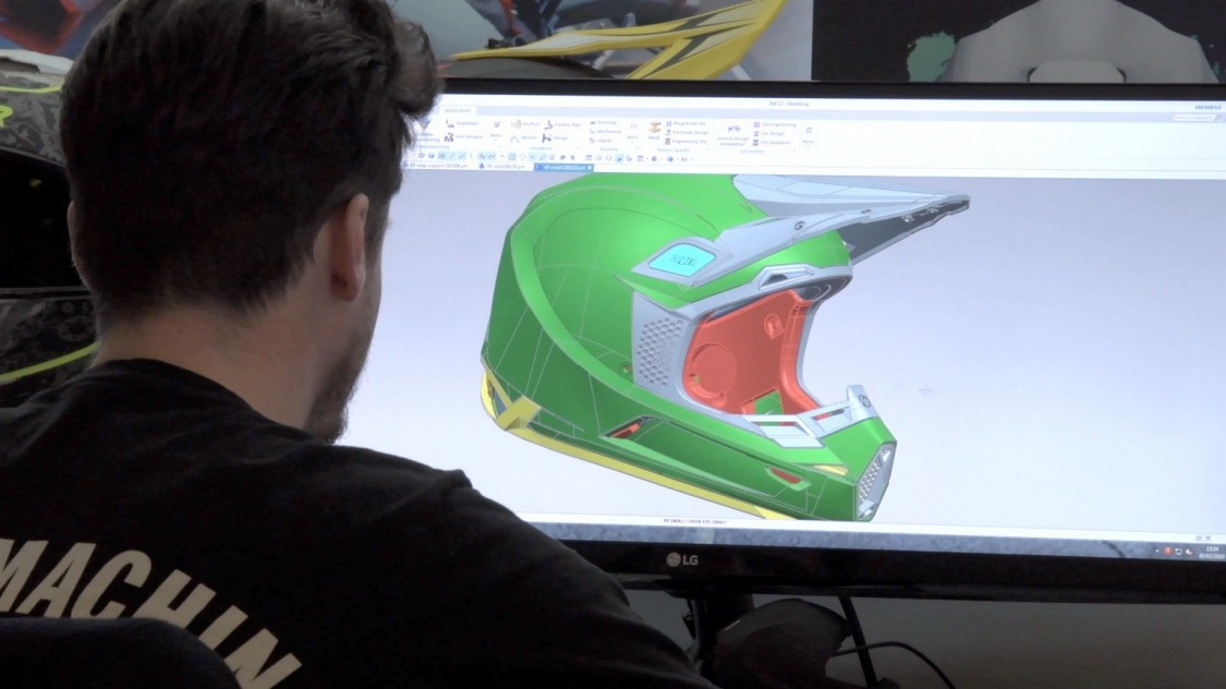 Design of a helmet with NX