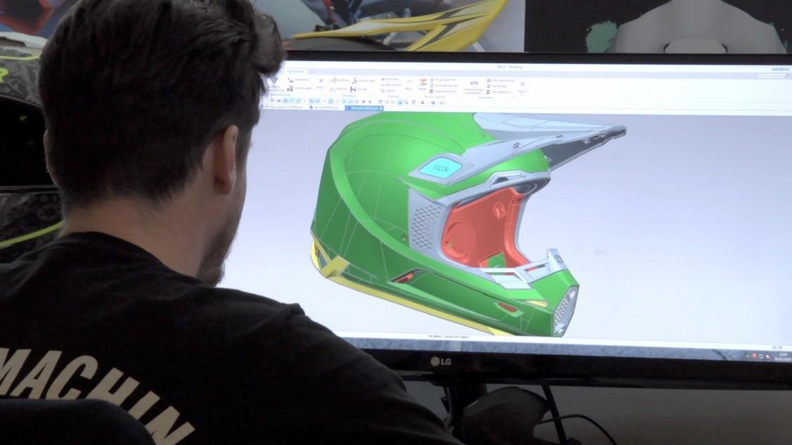 Projektowanie kasku z użyciem oprogramowania NX