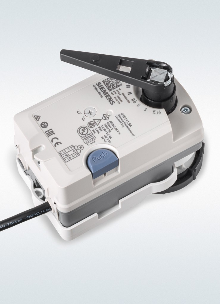 Siemens expands damper actuator family