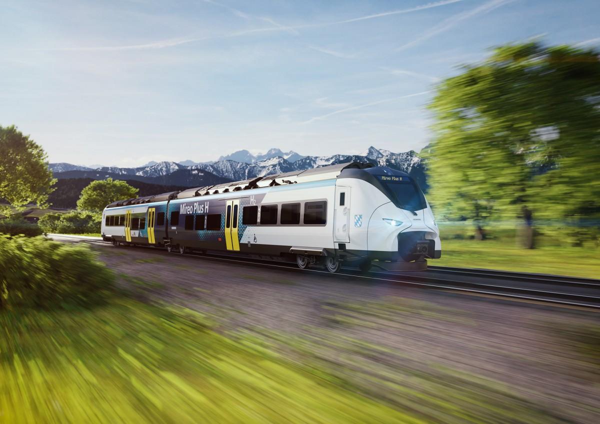 Siemens Mobility develops hydrogen train for climate-neutral rail transport in Bavaria
