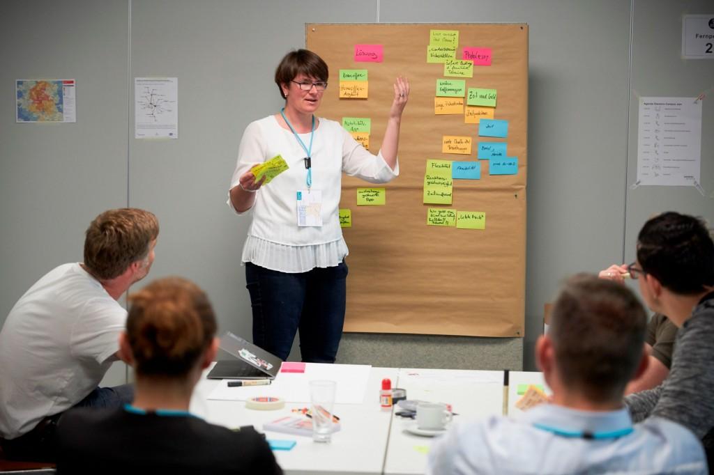 """Pressebild """"Workshop"""" zur Meldung """"Siemens Campus Mobilität"""""""